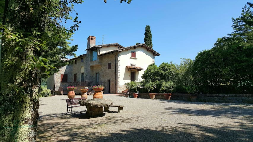 Appartamento Le Selvole castagno - Radda in Chianti - Leilighet
