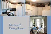 Warm and Welcoming Kitchen & Dining Room