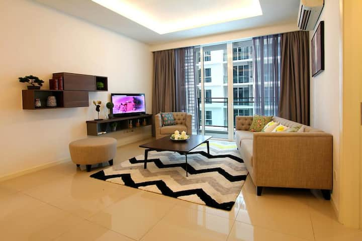 Nice n Enjoy 3 Bed Room Apartment@ The Shore Hotel