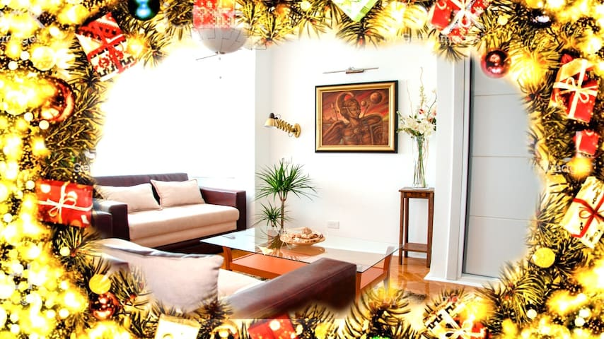 Christmas Holiday Welcome apartment