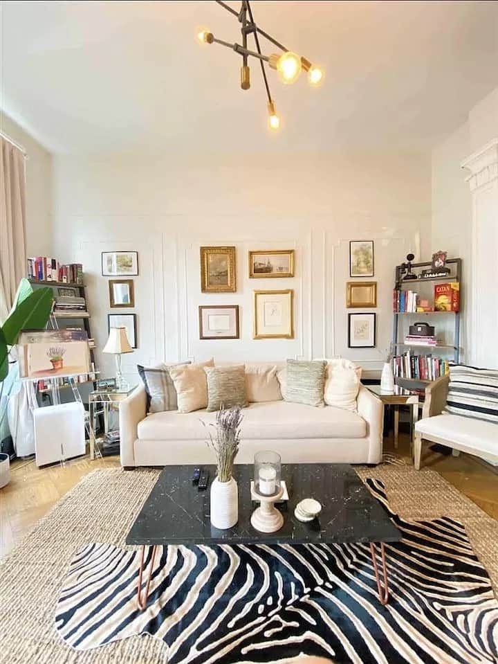 RARE 2BR Brownstone Parlor w/ 11 ft. Ceilings