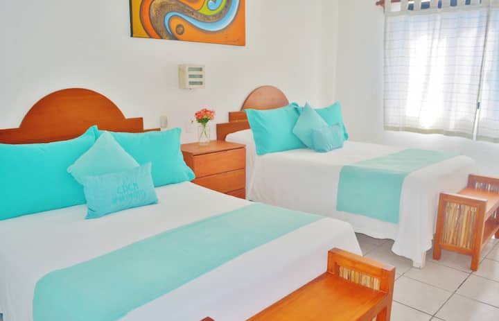 Life at the Caribbean! 1BR Relaxing Apartment