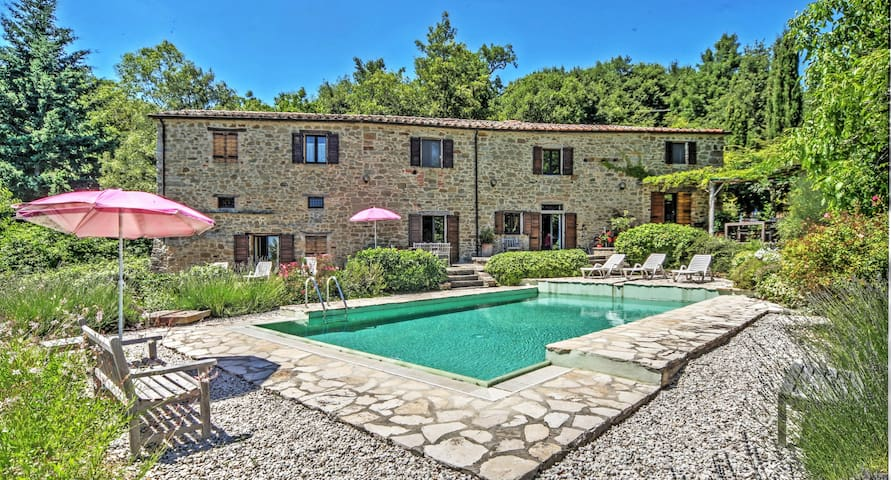 Elegant countryside villa with pool - Lippiano - Casa