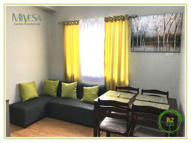 Modern 2 Bedroom Condo in the heart of Cebu City