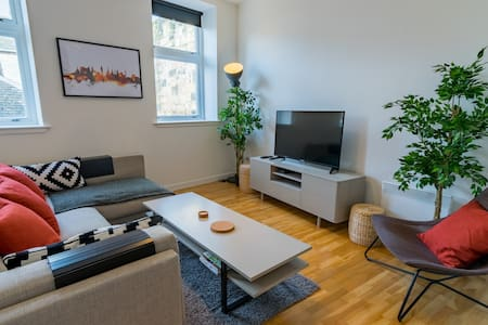 Bright Central Two Bed Loft - Glasgow - Appartement