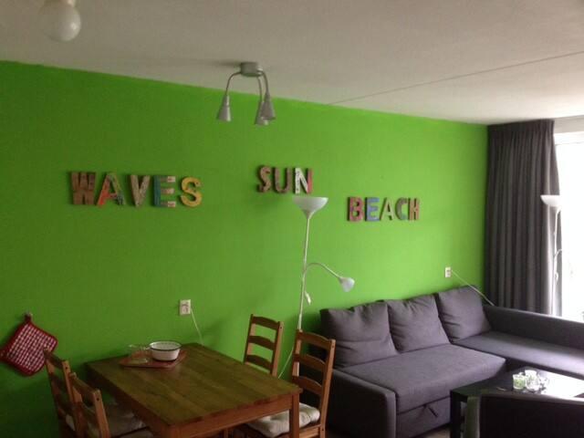 Rustiggelegen Appartement 700 m. van Strand en Zee