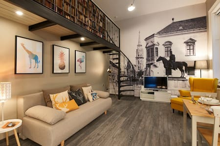 Design Flat in Central Castle District - Budapest - Wohnung