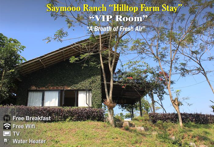 "SayMooo Ranch VIP Room ""Hilltop Farm Stay"""
