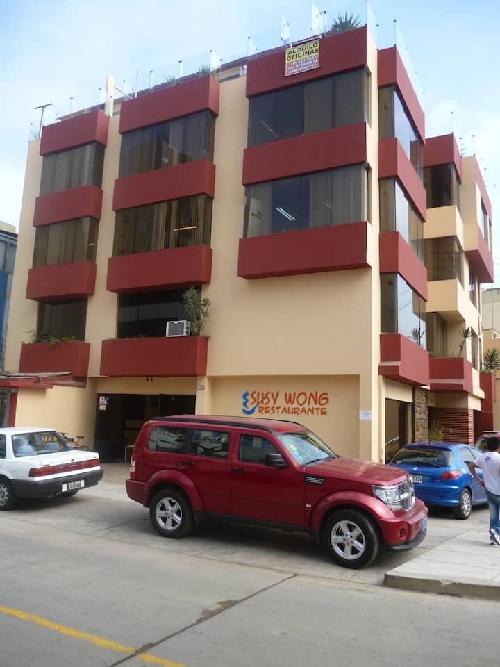 Apartment near cruz del sur and Petroperu