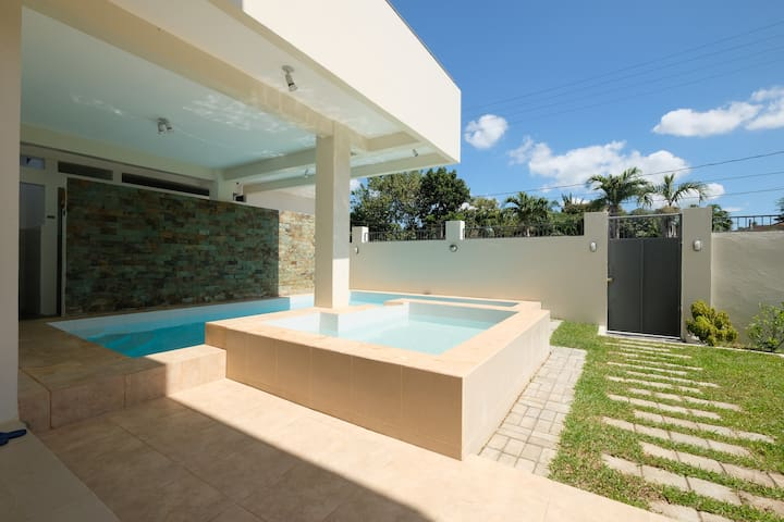 ★ New 2 BR Geothermal Private Hot Spring Villa ★