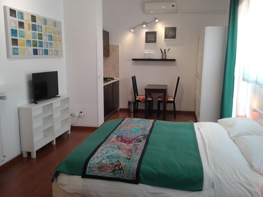 St peter 39 s studio green apartments for rent in rome for Studio apartments in rome