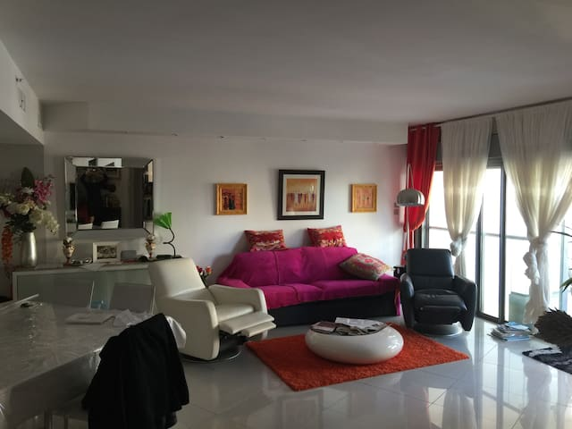 Luxury apartment located South Netanya - Netanya - Flat