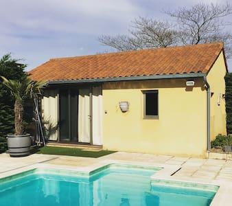Chambre indépendante, piscine, à Sarlat la Caneda - Sarlat-la-Canéda