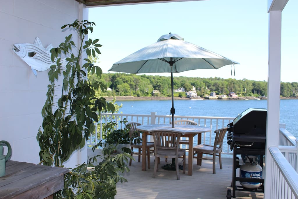 Enjoy dinner with a view and private use of BBQ on the deck.