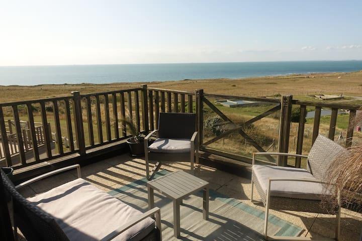 La Naturelle - Magnifique duplex ouvert sur la mer