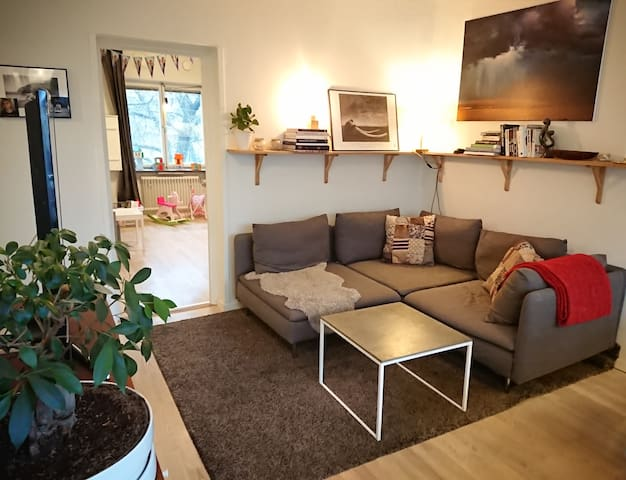 Bright and cozy 2-bed apartment