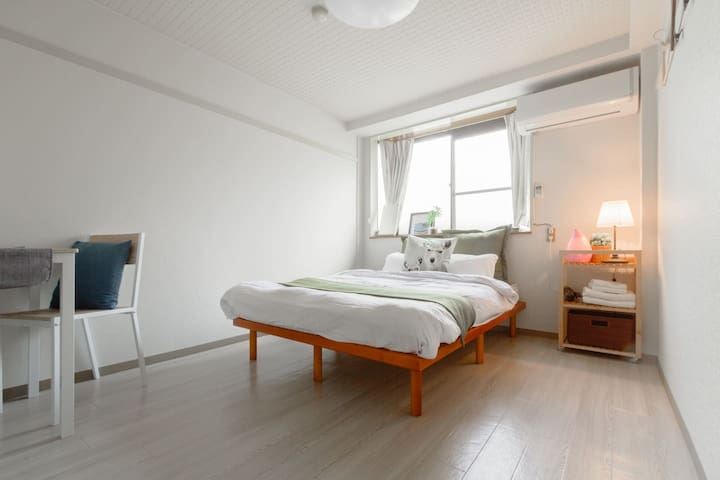 Near JR Nara station : Room B - 奈良市 - Lägenhet