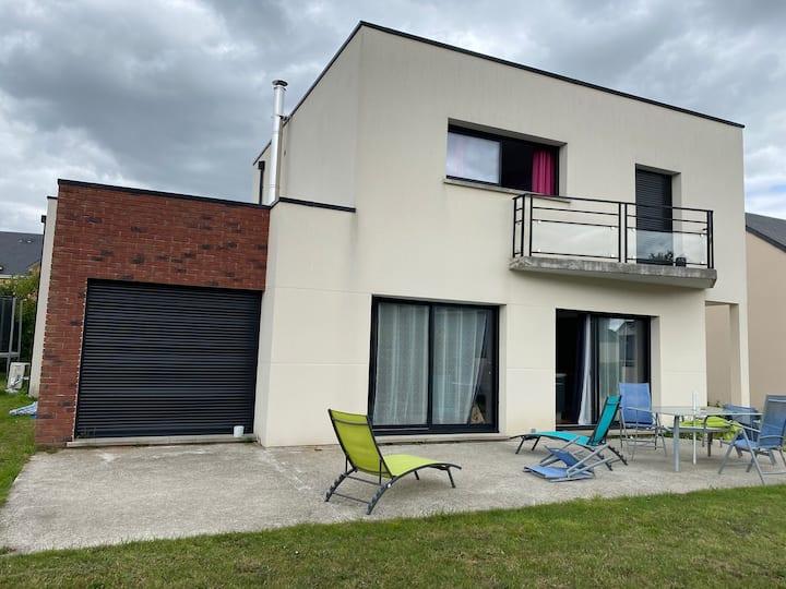 Maison contemporaine à 15 Min de Rouen avec spa
