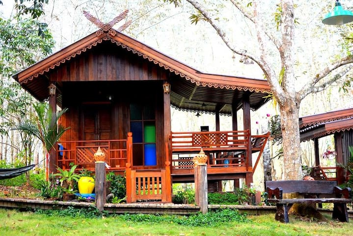 Rabbit Habitat Homestay - นายายอาม - House
