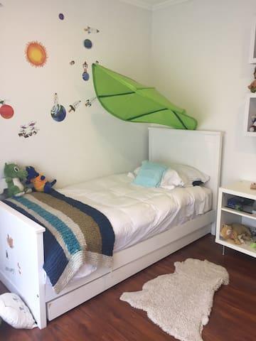 Dormitorio 1, 2 camas individuales (cama nido)