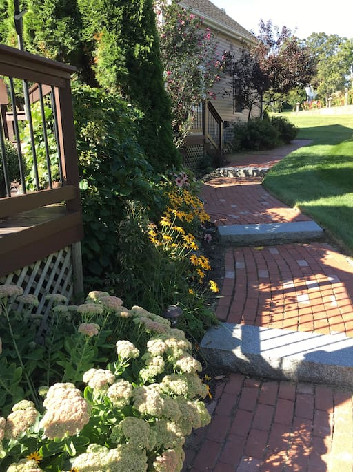 Brick Walkway To Your Entrance