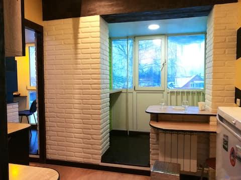 Шикарная квартира студия с новым ремонтом