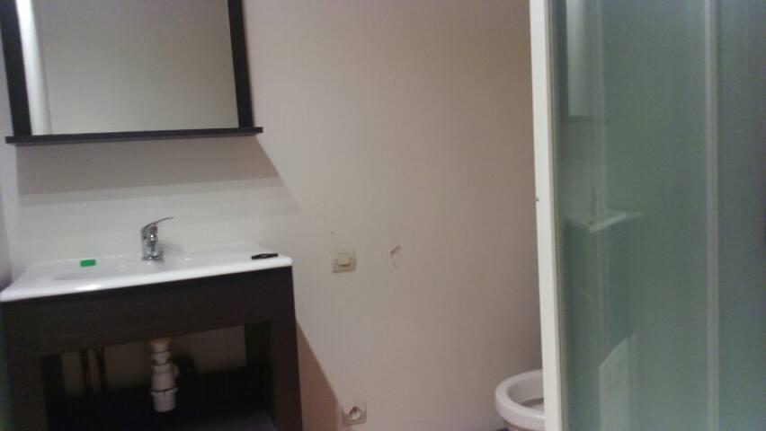 chambre sous les toits - Pennautier - Lejlighed