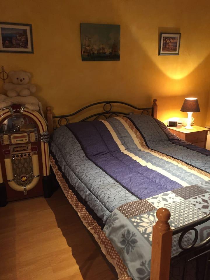 Chambre sympa et au calme