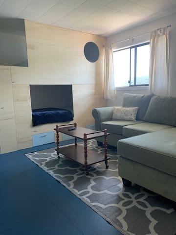 Bunks (x4) & TV Room