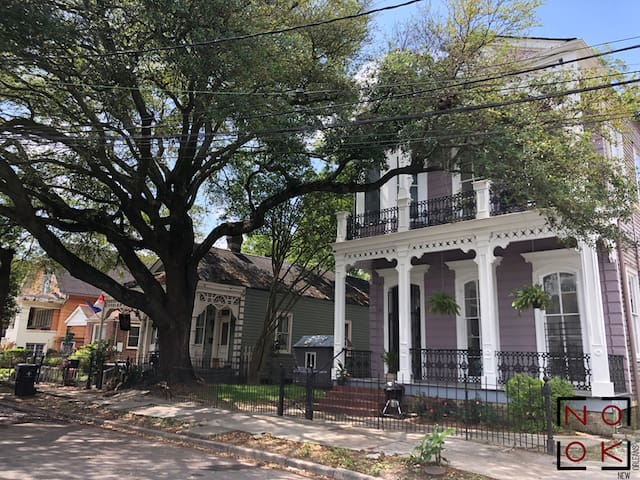 Historic 1886  Garden District Mansion Guesthouse