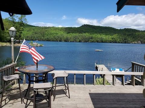 Adirondack Waterfront Cabin on Eagle Lake