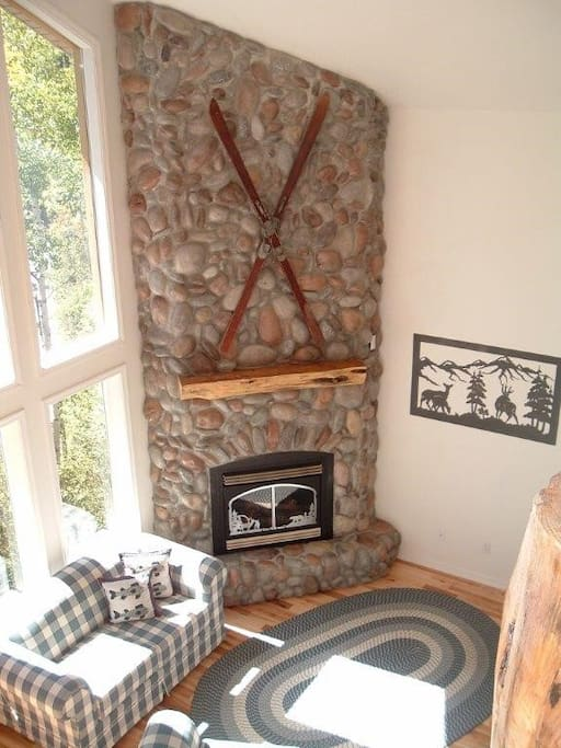 Working Rock Fire place