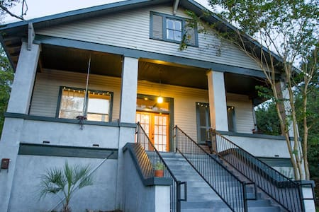 Spacious Garden District suite - Baton Rouge - Huis
