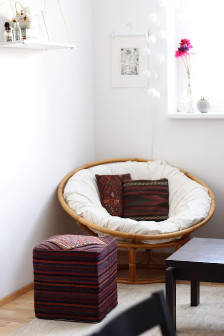 Probably the cosiest chair you've sat on