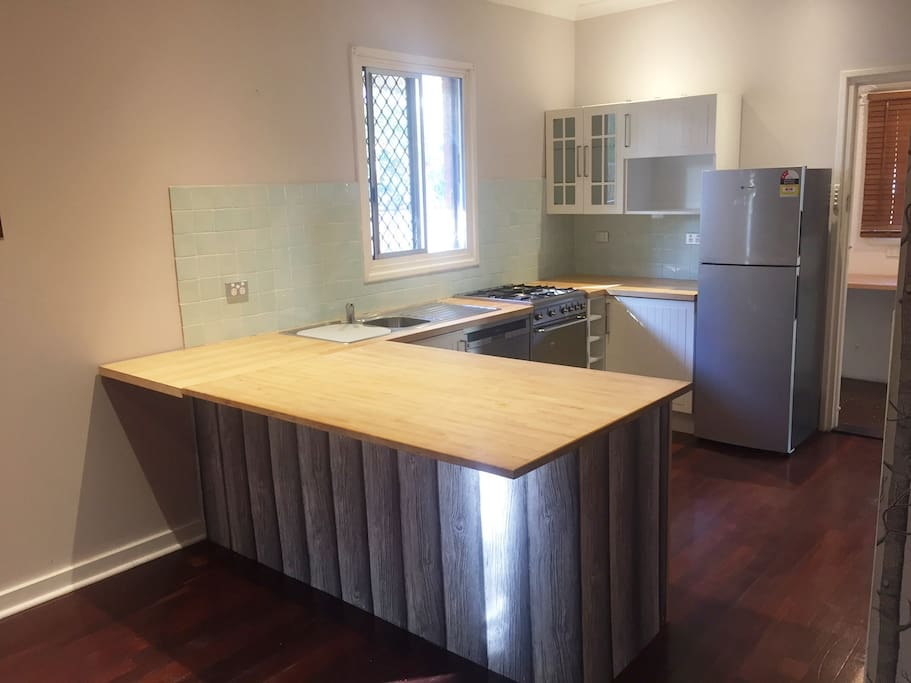 Kitchen open plan from loungeroom