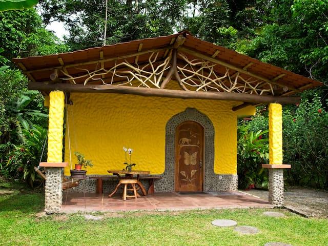 Mariposa Rainforest Casita with Hot Springs
