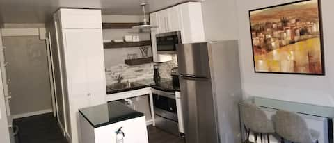 """"""" Luxe APT washer, dryer, dishwasher and smart TV"""