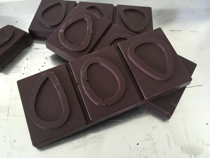 Chocolates made in the lab
