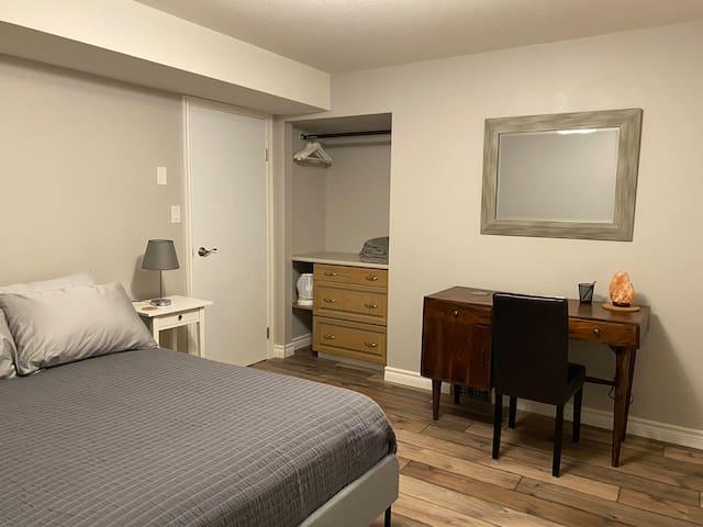 Bedroom #2: Double bed