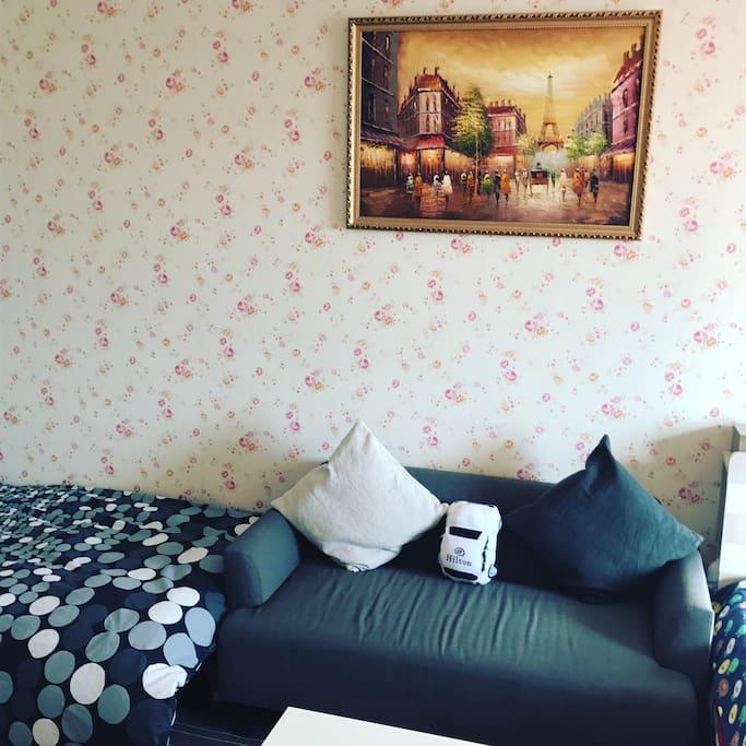 老巴黎香榭丽大街的风韵美景陪你度过愉快的沙发电视时光~