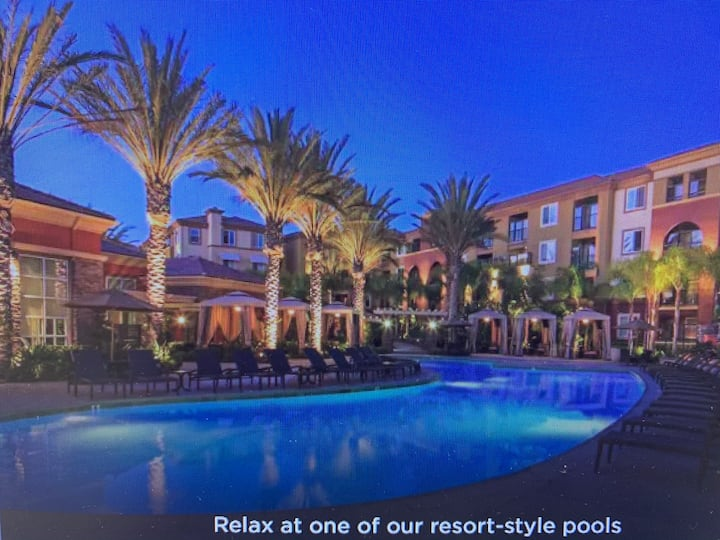 Resort style living in Anaheim's platinum Triangle
