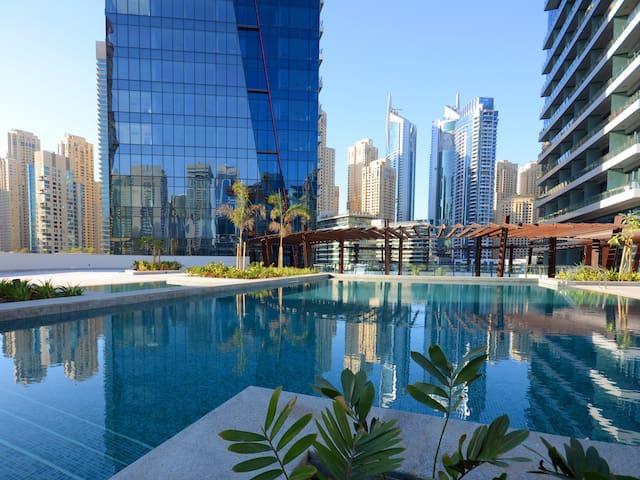 Stunning Studio by the Dubai Marina Walk - Dubai - Daire