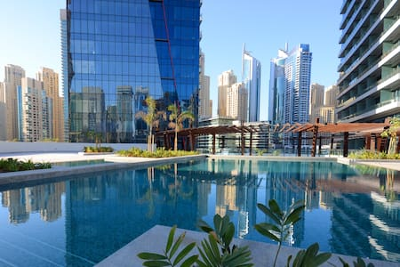 Stunning Studio by the Dubai Marina Walk - Dubai - Apartment