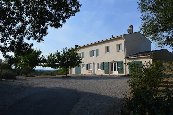 Rustikt fransk og ren natur - Ferme Toulza - Mirepoix - House