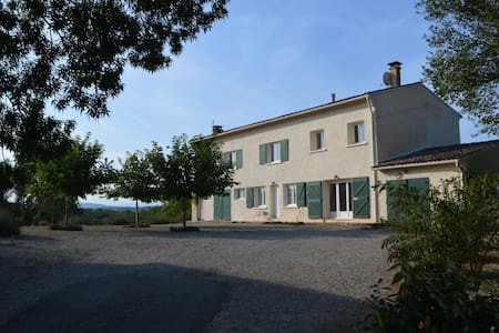 Rustikt fransk og ren natur - Ferme Toulza - Mirepoix - Talo