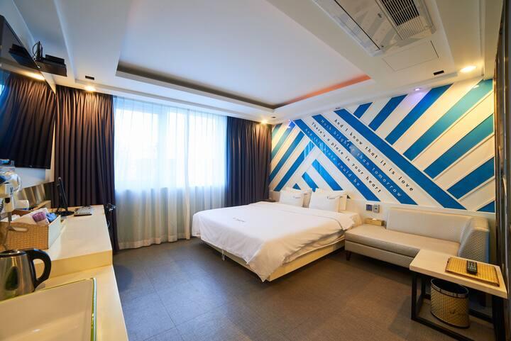 [광안리] 프리미엄 브이 관광 호텔 디럭스