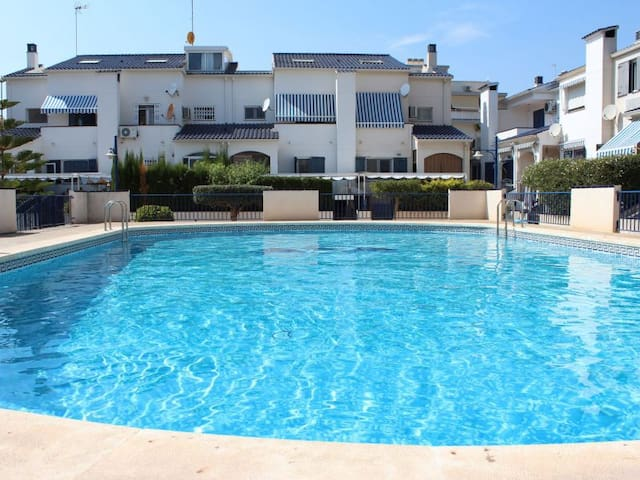 Luxury flat two real minutes from the beach