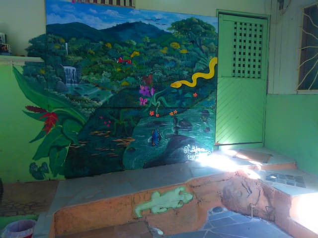 ASHRAM-HOSTEL in UVITA de OSA - PRIVATE ROOMS