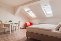 Bright Prague Castle Loft