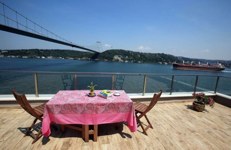 ❤️ Breathtaking Bosphorus View❤️Private Terrace ❤️